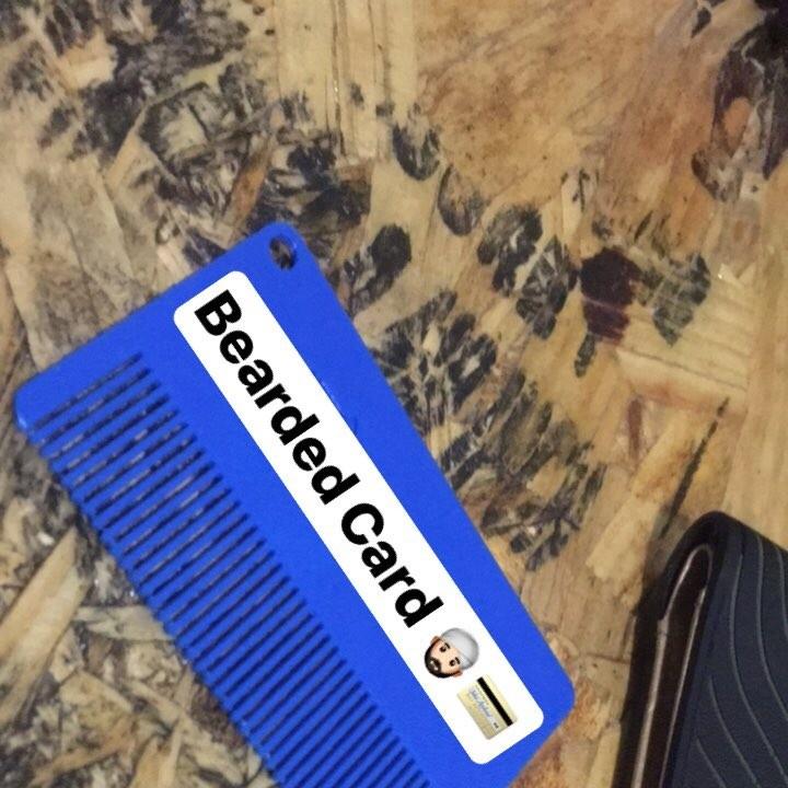 Bearded Card