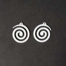 Spiral Earings