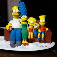 Picture of print of The Simpsons 3D Этот принт был загружен Marius