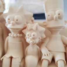 Picture of print of The Simpsons 3D 这个打印已上传 Steffen
