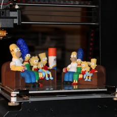 Picture of print of The Simpsons 3D 这个打印已上传 William J Hatten