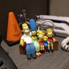 Picture of print of The Simpsons 3D 这个打印已上传 Roberto Correia