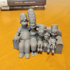 Picture of print of The Simpsons 3D Этот принт был загружен Alon m