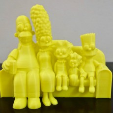 Picture of print of The Simpsons 3D
