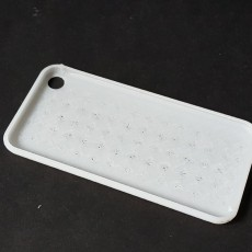Soft Touch 0.1mm thickness layer iPhone 7 cover template | MyMiniFactory Design Competition