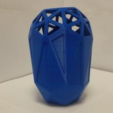 Big Full 3D Printable Vase