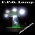 """U.F.O Lamp. Alien Abduction Nightlight. """"Oh no, not the cow!"""" image"""