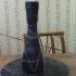 Tall Smooth pentagon vase image