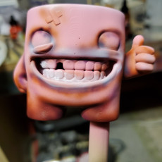 Picture of print of Super Meat Boy Wacom Pen Stand