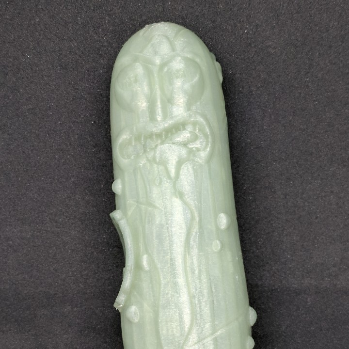 Picture of print of Pickle Rick 2 - Injured and Angry This print has been uploaded by Larry Earnhart