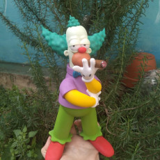 Picture of print of Krusty 3D