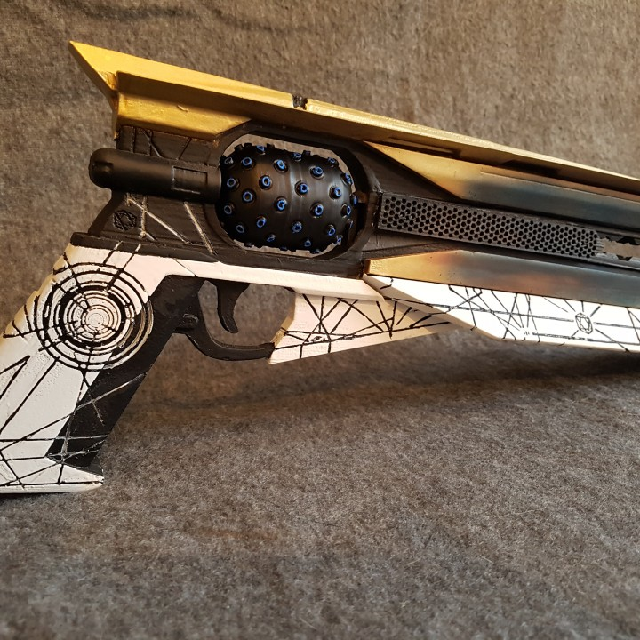 3D Print of Destiny 2 Sun shot by fargle2nd