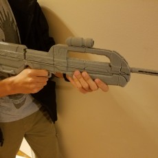 Halo 2 Battle Rifle 1/2 scale