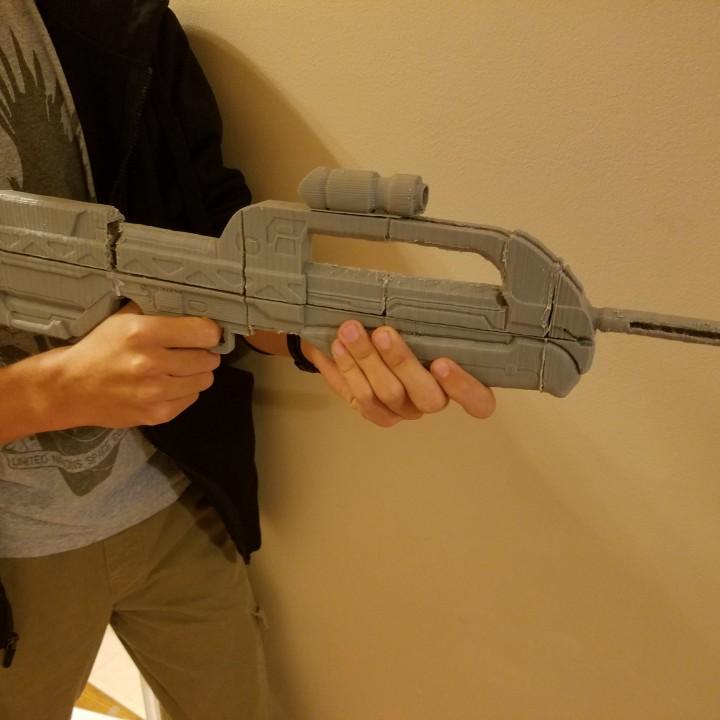 Halo 2 Battle Rifle 1/2 scale