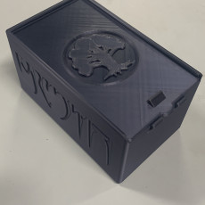 Picture of print of MTG Deck Box with Dice Storage