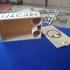 MTG Deck Box with Dice Storage print image