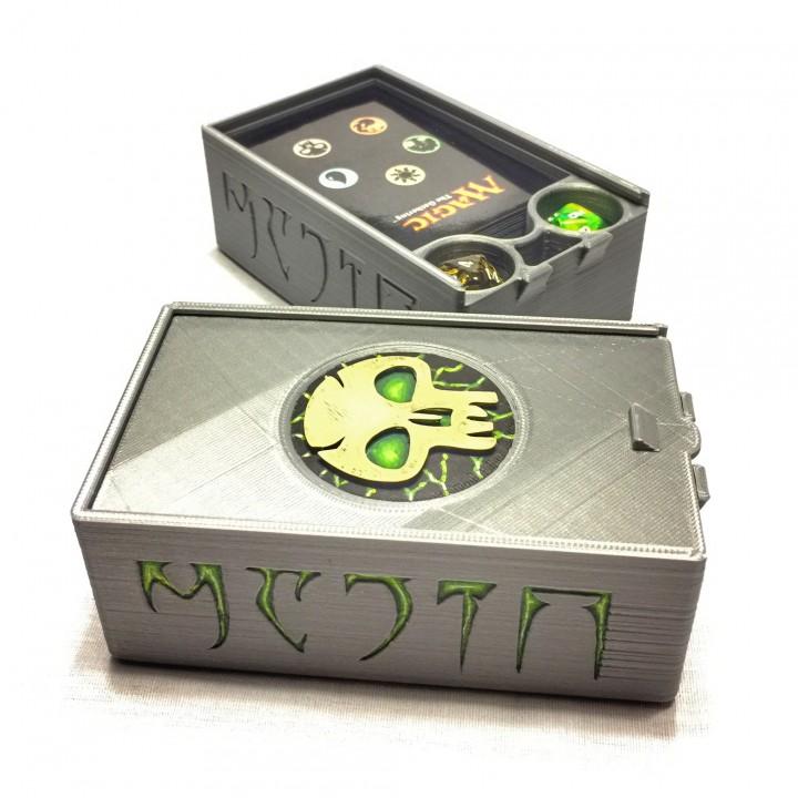 MTG Deck Box with Dice Storage
