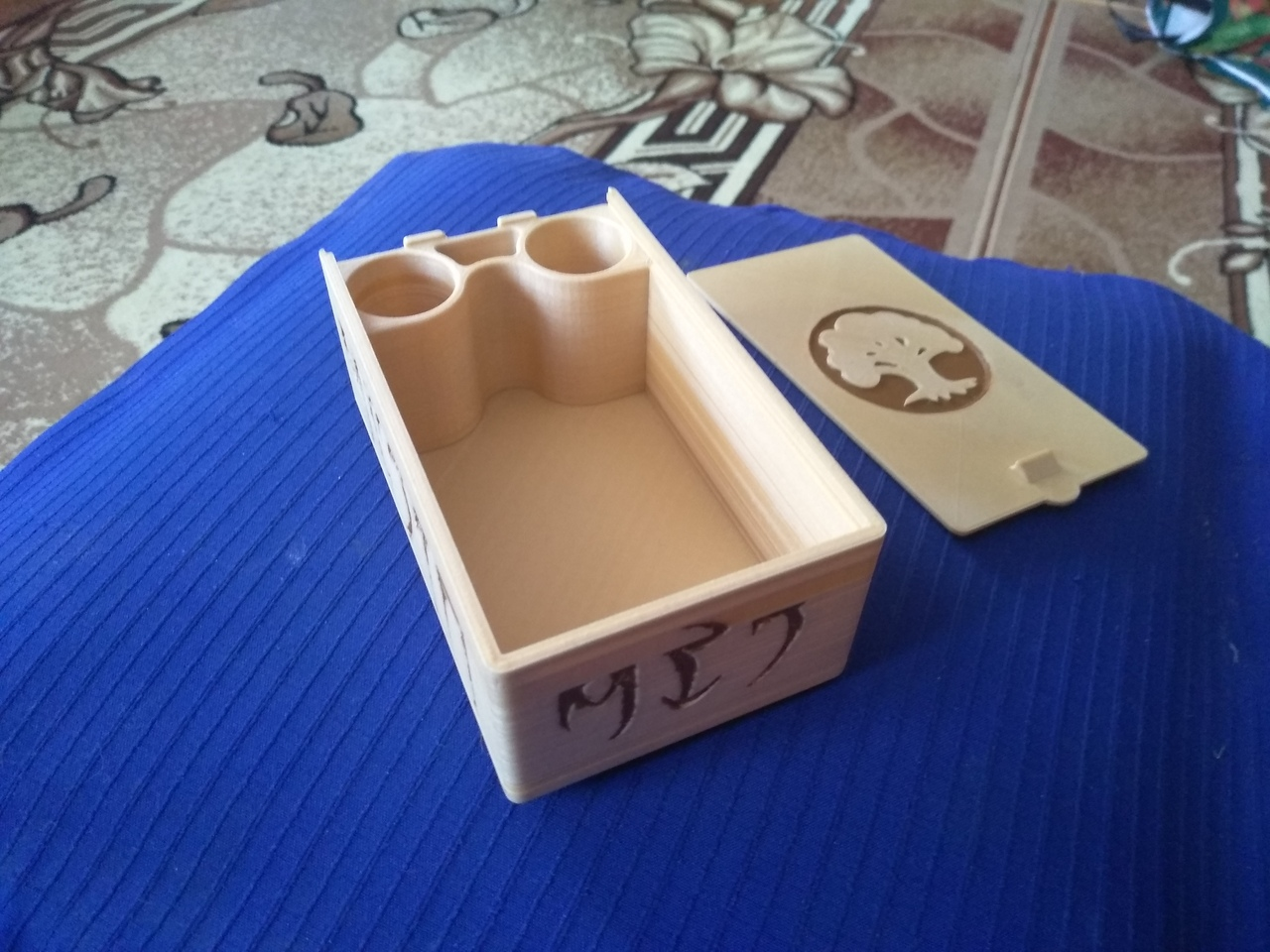 3d printable mtg deck box with dice storageraleigh shade