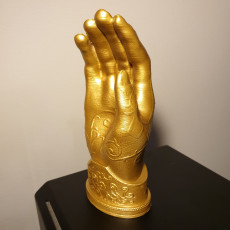 Picture of print of Kingslayer's Golden Hand - Game of Thrones