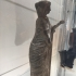 Bronze woman image