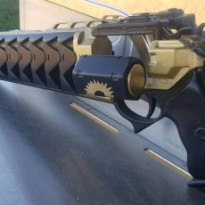 Picture of print of Exiles Student Destiny Trials Hand Cannon