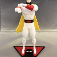 Picture of print of Space Ghost
