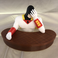 Picture of print of Space Ghost - Facepalm