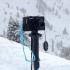 Ski pole camera tripod adapter image