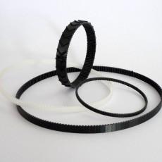 Customizable Flexible Tooth Belt
