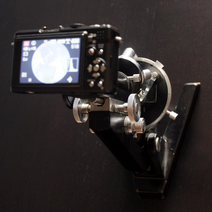 Lumix LX3 Microscope Adapter