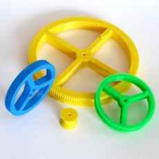 Customizable Simple Pulley/Gear