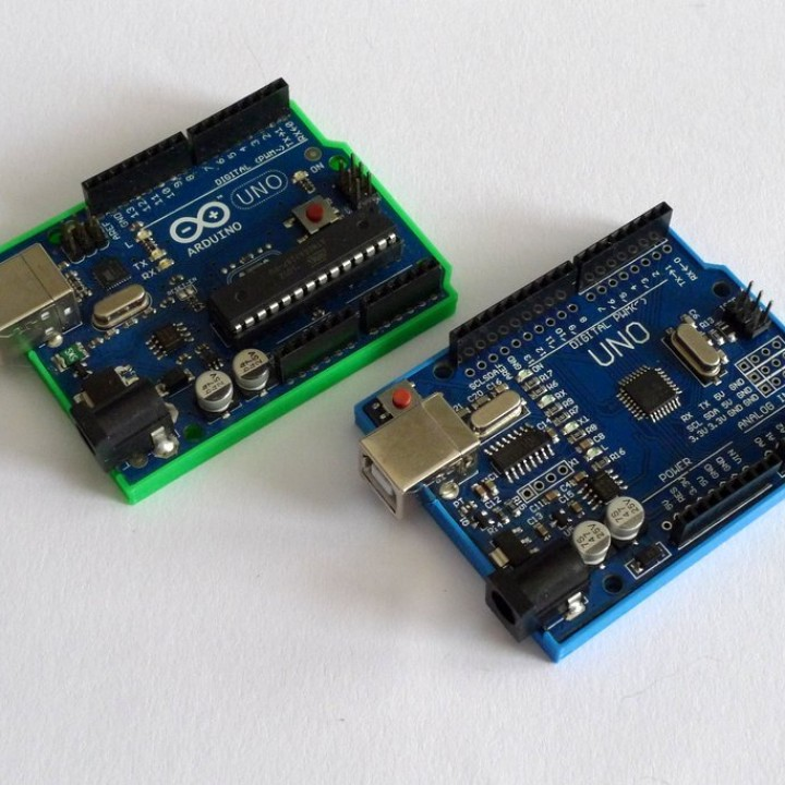 D printable bumper for arduino uno clone by martin schiller