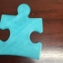 Autism Awareness Puzzle Piece - Light it up blue image
