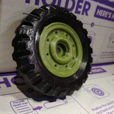 MB Jeep Tyre and Rim