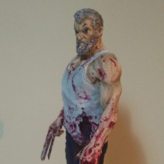 Picture of print of Old man logan