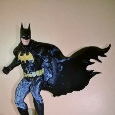 Picture of print of Batman  on a roof