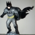 Batman  on a roof print image