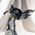 Batman  on a roof print image