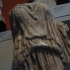 Upper body of a female statue wearing peplos (mantle) image
