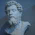 Bust of the emperor Septimius Severus image