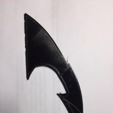 Picture of print of Batman 1989 Folding Batarang
