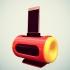 Boombox smartphone speaker image