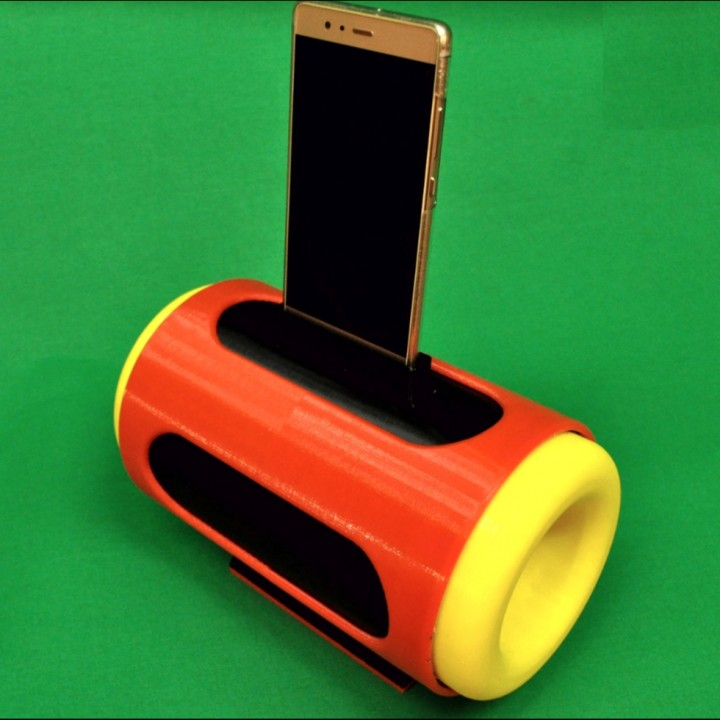 Boombox smartphone speaker