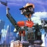 Johnny 5 robot from short circuit film print image