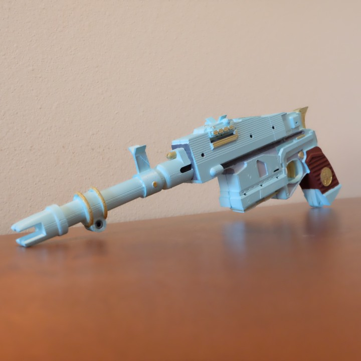 3D Printable Sturm Exotic Hand Cannon from Destiny 2 by Justin Ray