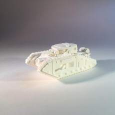 3D Printable Epic Scale Malcador Heavy Tank by Mkhand