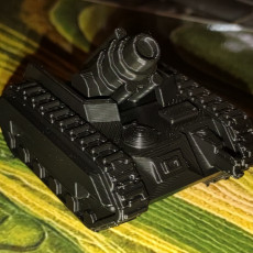 Picture of print of Epic Scale Griffon Mortar Carrier