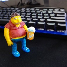 Picture of print of Barnie Gumble3D This print has been uploaded by Alberto Serrano