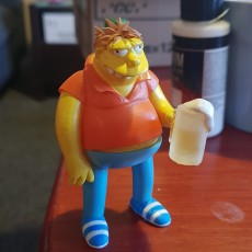 Picture of print of Barnie Gumble3D