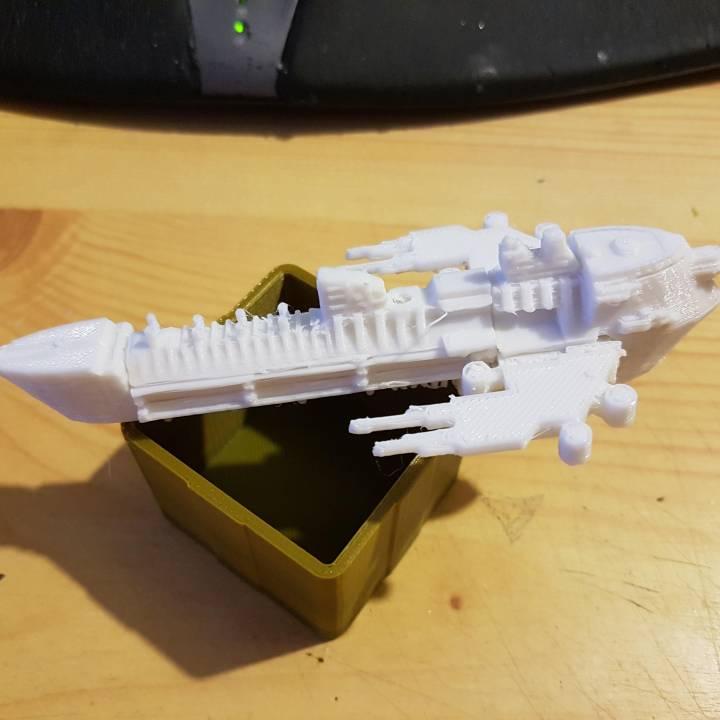 Imperial Navy Battleship